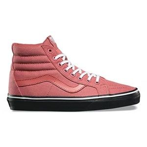 Vans sk8 reissue black outsole fade rose shoes